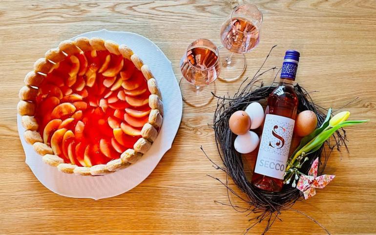 Rezepttipp: Rosa-Secco-Torte